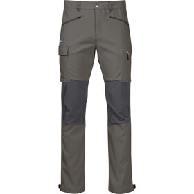 Bergans Nordmarka Hybrid Pants Men green mud/solid dark grey